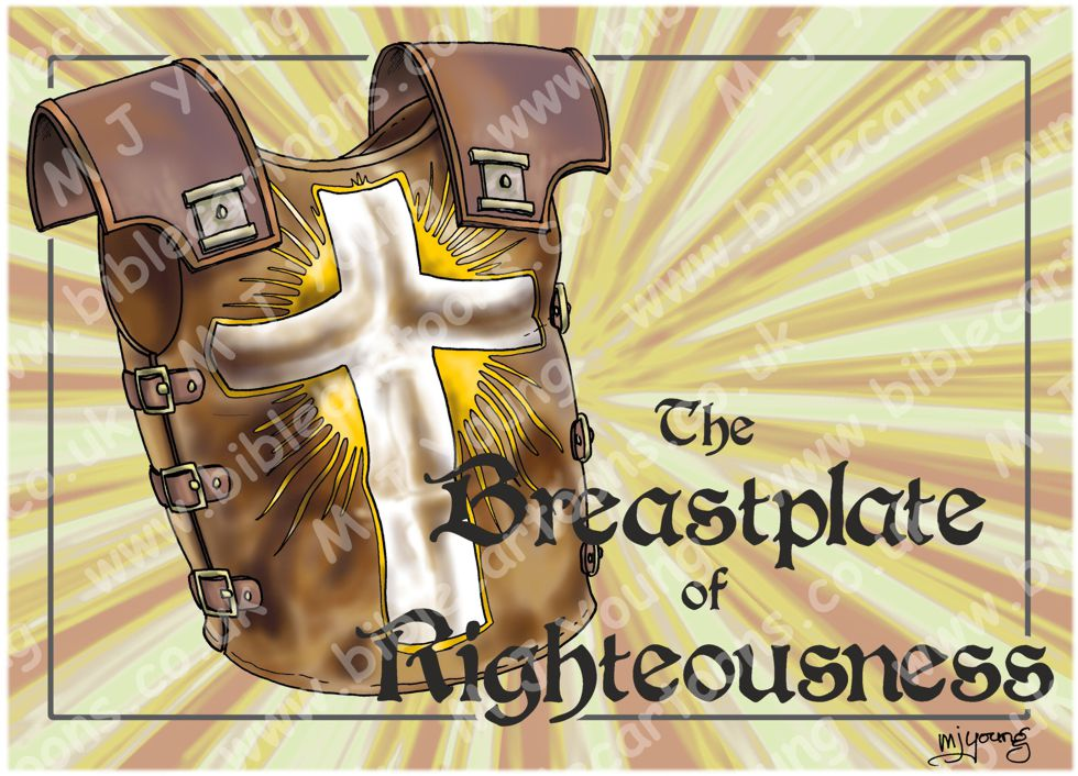 Ephesians 06 - Armour of God - Breastplate of Righteousness (Yellow) 980x706px.jpg
