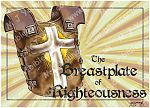 Ephesians 06 - Armour of God  - Breastplate (Yellow)