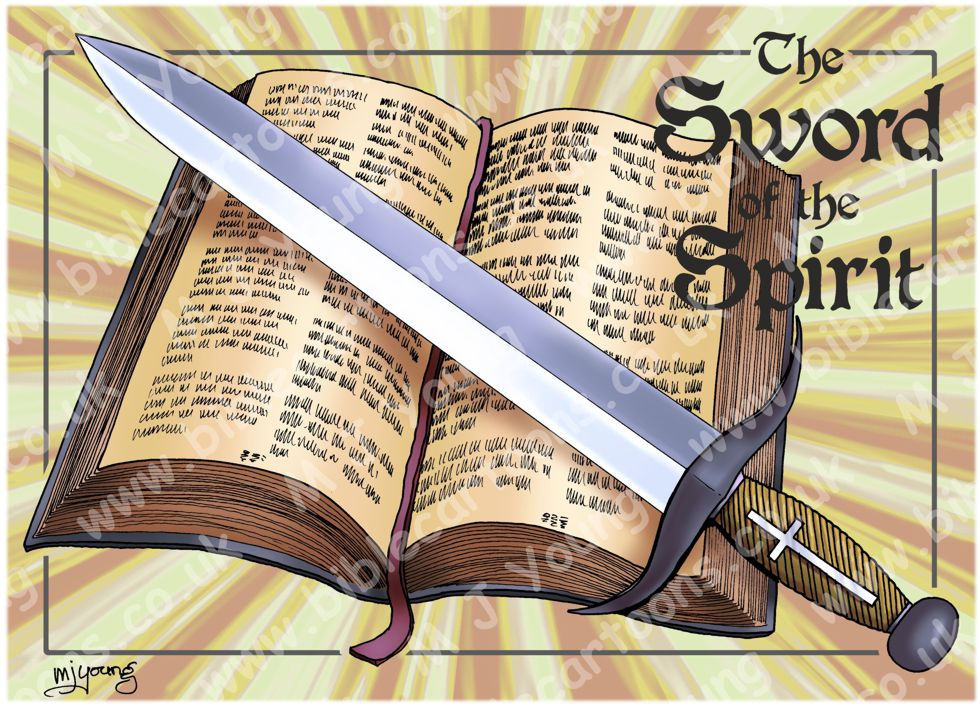 Bible Cartoons: Ephesians 06 - Armour of God - Sword of ...