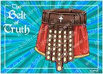 Ephesians 06 - Armour of God  - Belt (Blue)