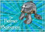 Ephesians 06 - Armour of God  - Helmet (Blue)