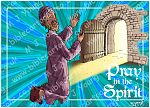 Ephesians 06 - Armour of God  - Pray in the Spirit (Blue)