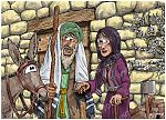 Luke 01 - The Nativity - Births foretold - Scene 02 - Zechariah & Elizabeth