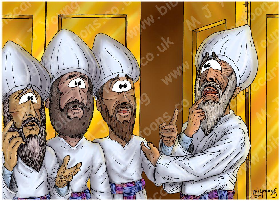 Luke 01 - Births foretold - Scene 05 - Zechariah dumb