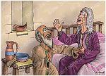 Luke 01 - Births foretold - Scene 06 - Elizabeth's delight