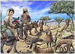 Luke 01 - Births foretold - Scene 09 - Hurrying in Judea