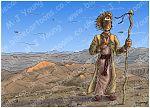 Luke 01 - Births foretold - Scene 14 - John in Wilderness