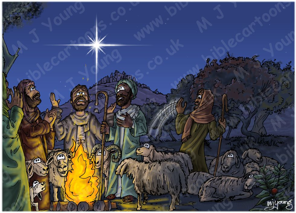 Luke 02 - Nativity SET02 - Scene 06 - Let's go