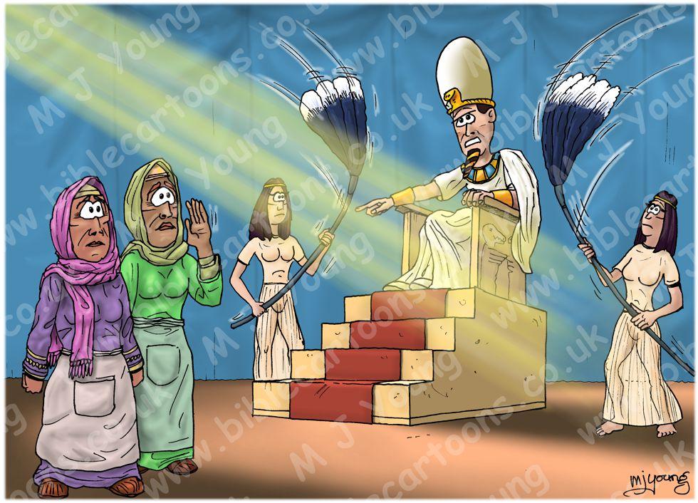 Exodus 01 - Hebrews Oppressed - Scene 04 - Hebrew midwives