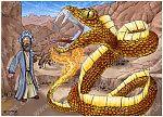 Exodus 04 - Burning Bush - Scene 05 - Snake staff (Large version)