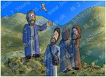 Luke 09 - The Transfig - Scene 01 - Up the mountain