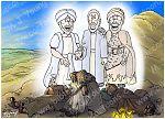 Luke 09 - The Transfig - Scene 03 - Jesus, Moses & Elijah