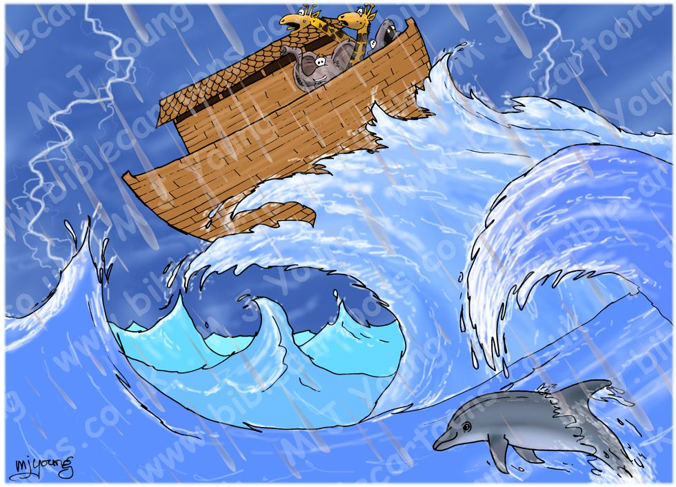 Noah's Ark and the Flood 980x706px col