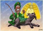 Numbers 22 - Balaam's Donkey - Scene 05 - Donkey speaks