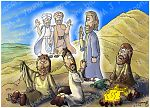 Luke 09 - The Transfig - Scene 04 - Disciples Awaken