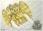 Luke 16 - Rich man & Lazarus - Scene 03 - Angels