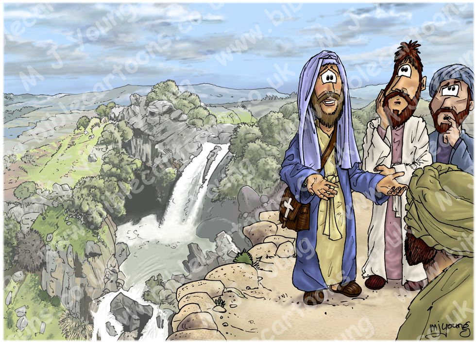 Matthew 16 - Peter's confession - Scene 01 - Who is the Son?