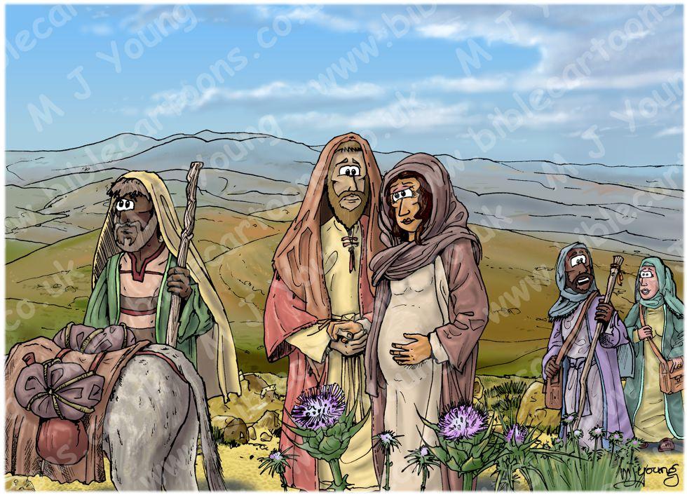 Luke 02 - Nativity SET02 - Scene 01 - Walking to Bethlehem (Light version)