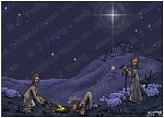 Luke 02 - Nativity SET01 - Scene 03 - Shepherds