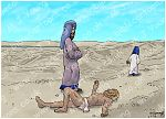 Luke 10 - Parable of the good Samaritan SET01 - Scene 02 - Passers-by