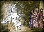 Mark 16 - Resurrection of Jesus - Scene 03 - Angel