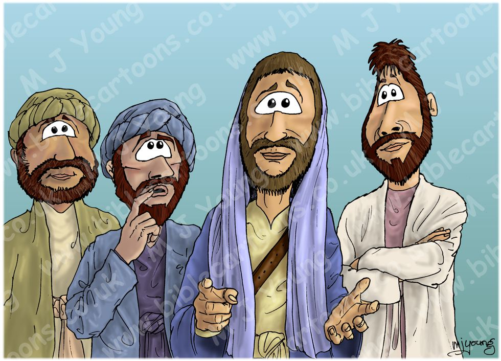 Matthew 16 - Peter's confession - Scene 01 - Who am I? (Version 02)