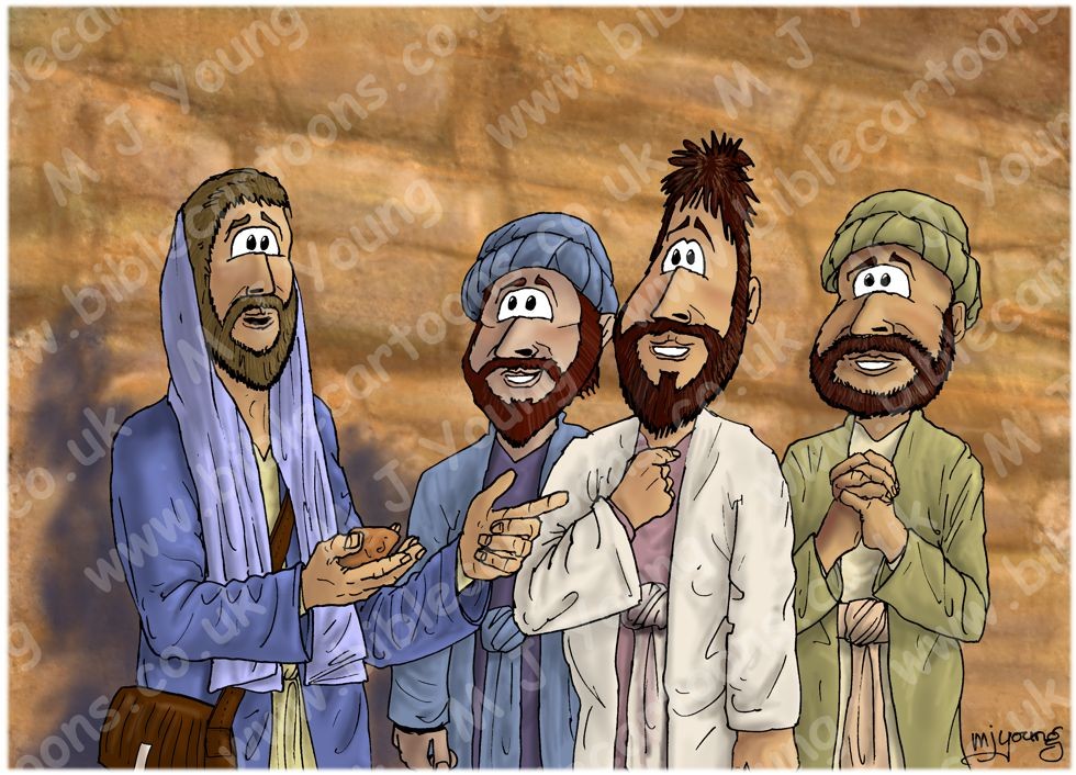 Matthew 16 - Peter's confession - Scene 03 - Petros (Version 01)