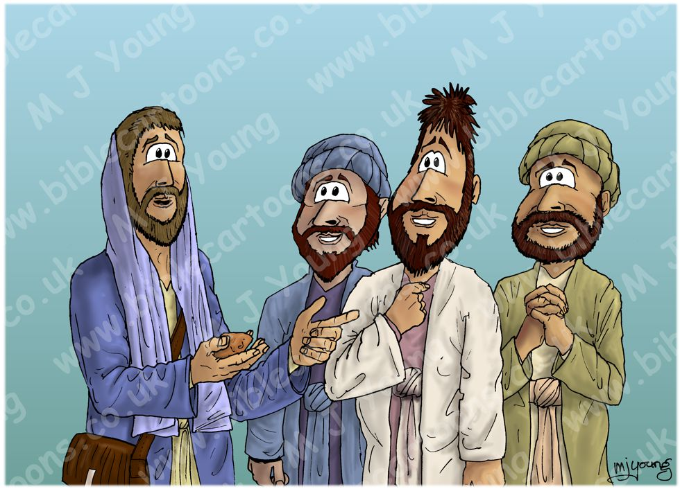 Matthew 16 - Peter's confession - Scene 03 - Petros (Version 02)