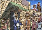 Matthew 09 - Jesus heals by faith - Scene 09 - Stern warning