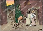 Luke 10 - Parable of the good Samaritan SET01 - Scene 05 - Parting