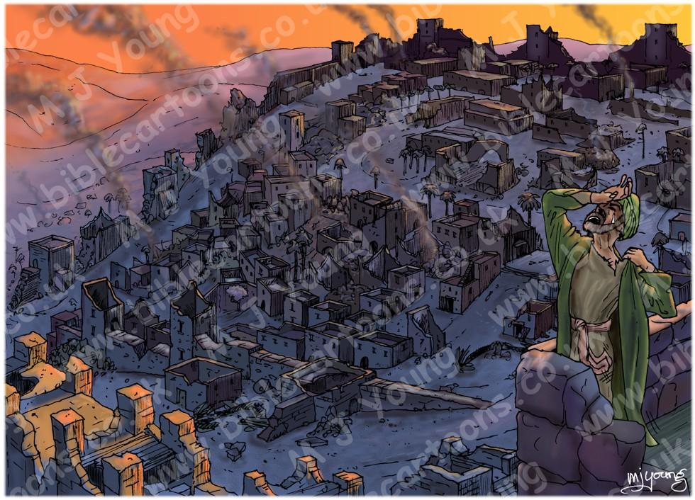 Lamentations - Sorrow in Jerusalem - Scene 01 - Desolate city
