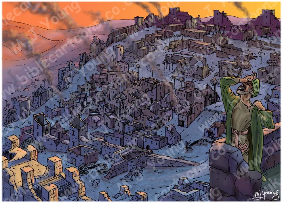 Lamentations - Sorrow in Jerusalem - Scene 01 - Desolate city LIGHTER