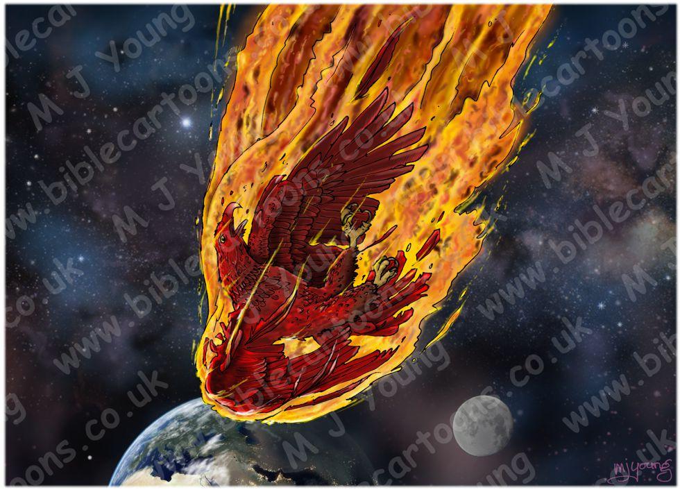 Obadiah - Edom's Destruction - Scene 01 - Falling eagle
