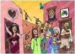 Luke 15 - Parable of the prodigal son - Scene 02 - Wild living