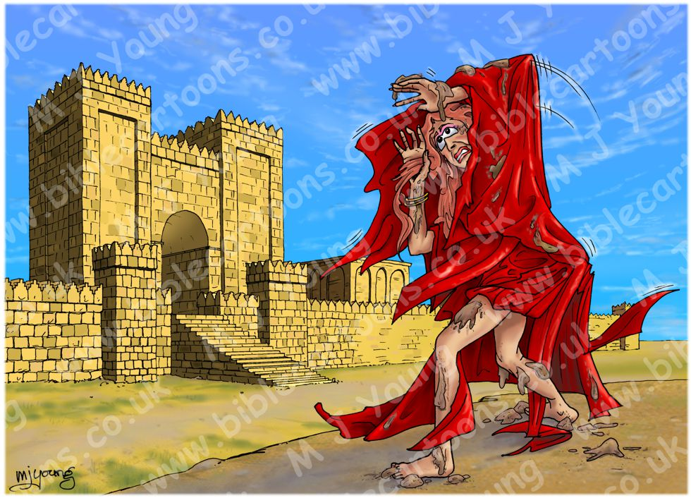 Nahum 03 - Woe to Nineveh - Scene 01 - Nineveh witch harlot (Version 02)