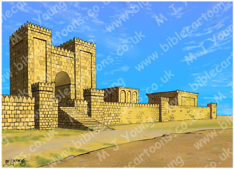 Nahum 03 - Woe to Nineveh - Scene 01 - Nineveh witch harlot - Landscape 980x706px col.jpg