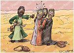 Luke 10 - Parable of the good Samaritan SET02 - Scene 01 - Beaten up