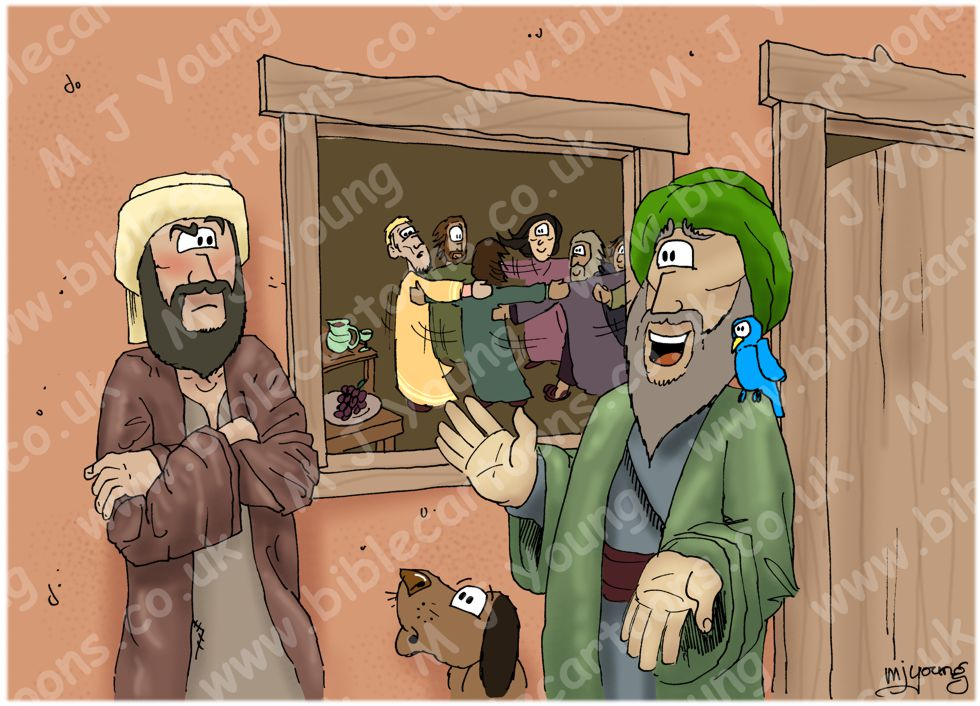 Luke 15 - Parable of the prodigal son - Scene 05 - Elder son