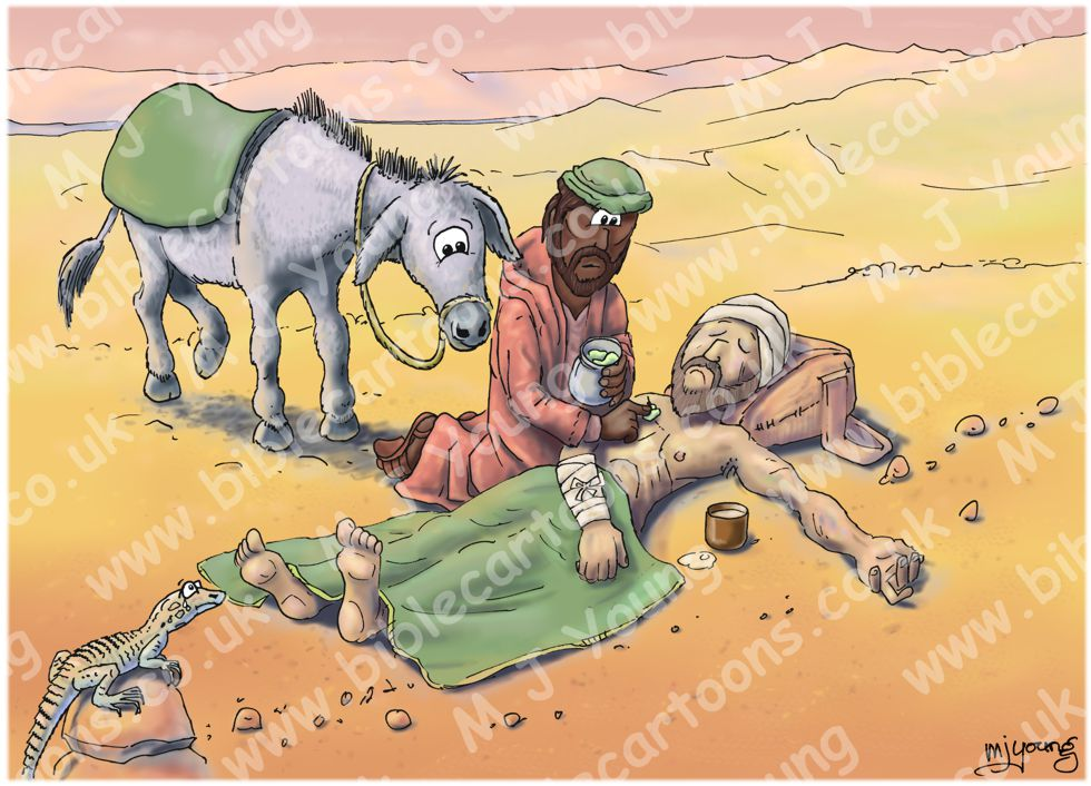 Luke 10 - Parable of the good Samaritan SET02 - Scene 03 - Good Samaritan