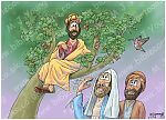 Luke 19 - Zacchaeus the tax collector - Scene 04a - Who me?