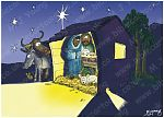 Luke 02 - The Nativity - Scene 02 - Stable (2)
