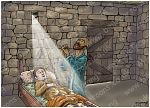 2 Kings 04 - Shunammite's son resurrected - Scene 13 - Elisha prays