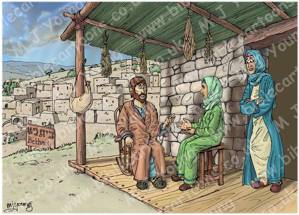 John 11 - Death of Lazarus - Scene 01 - Bethany