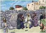 John 11 - Lazarus resurrected - Scene 01 - Jesus at the tomb (Version 01)