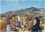 Luke 07 - Jesus raises a widow's son - Scene 01 - Approaching Nain LIGHTER
