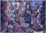 Mark 16 - Resurrection of Jesus - Scene 01 - Buying spices (Night version)