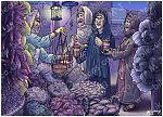 Mark 16 - Resurrection of Jesus - Scene 01 - Buying spices (Night version)