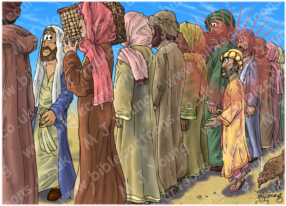 Luke 19 - Zacchaeus the tax collector - Scene 02 - Too short (Version 01) 980x706px col