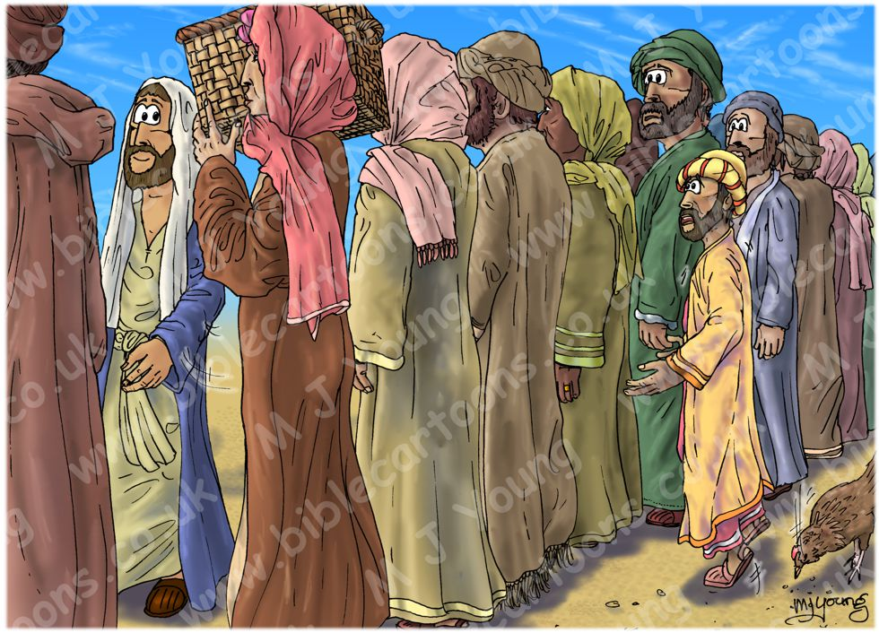 Luke 19 - Zacchaeus the tax collector - Scene 02 - Too short (Version 02) 980x706px col