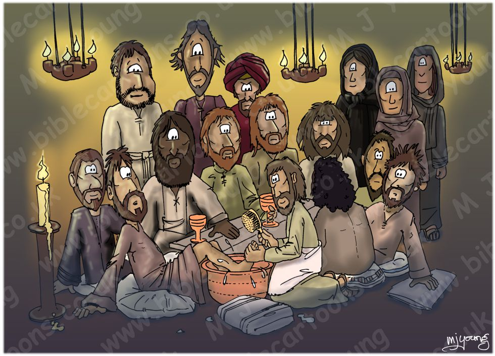 John 13 - Jesus washed disciples feet